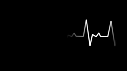 EKG Animation with Alpha Channel