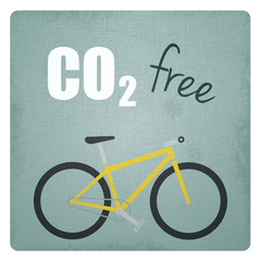 CO2 free bicycle