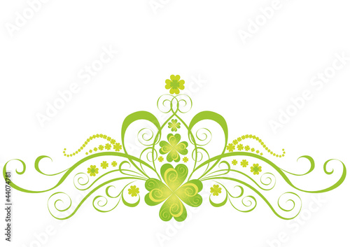 Shamrock for St.Patrick's Day. Vector St. Patrick's elements