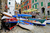 traditional Italy series - Riomagiore, pictorial  fishing vilage