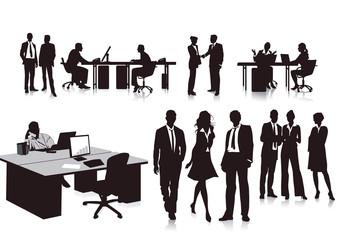 Mitarbeiter im Büro