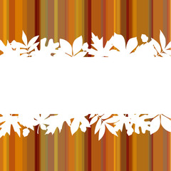 Autumn Background Stripes