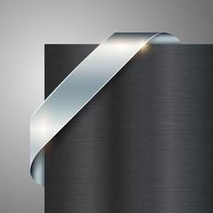 spare metallic looking ribbon