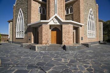 Historic Church in Carnarvon, South Africa.