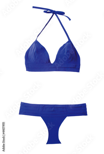 Marine blue bikini Poster