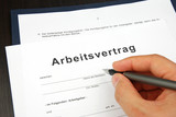 Arbeitsvertrag Dokument