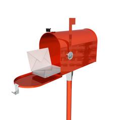 u.s mail box (render)
