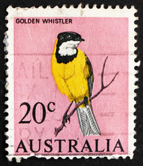 Postage stamp Australia 1966 Golden Whistler