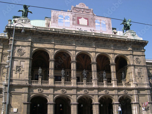 Opera House in Vienna Austria
