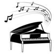 Fototapete Note - Musikalisch - Saiteninstrument