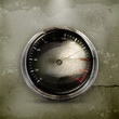 Speedometer, old-style vector