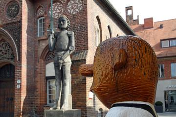 Loriot-Denkmal in Brandenburg a.d. Havel