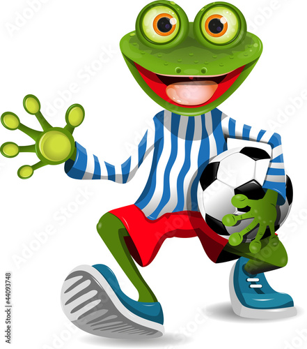 frog football player