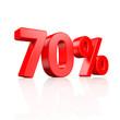 70% Rabatt - 3D Schrift