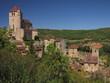 Village de Saint-Cirq-Lapopie ; Lot Quercy ; Midi-Pyrénnées