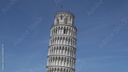 Leaning tower in Cathedral Square, Pisa, Italy