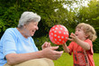 Granny Playing With Kid 1