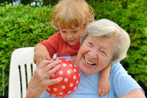 Granny Playing With Kid 2