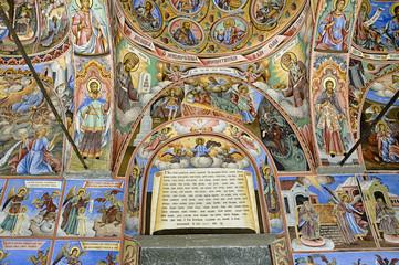Fresco from Rila Monastery