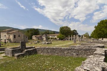 Altilia, Sepino, Molise-scavi della città romana