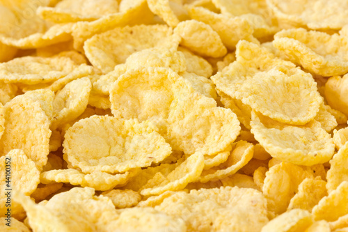background of tasty corn flakes