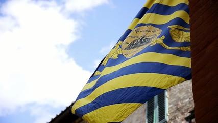 siena, a palio flag
