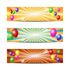 fun balloons banners