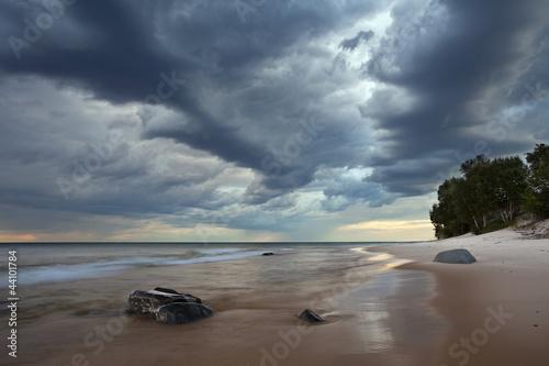 Fototapeten,hintergrund,strand,wolken,coastline