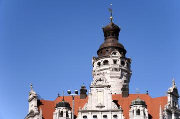 Leipzig Neues Rathaus Detail