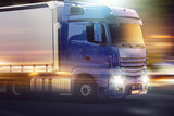 Fototapete Lastentransport - Lastkraftwagen - LKW