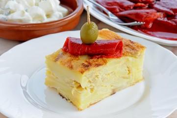Spanish tortilla tapas © Arena Photo UK