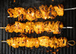 Indian Chicken Tikka Kebabs on Griddle
