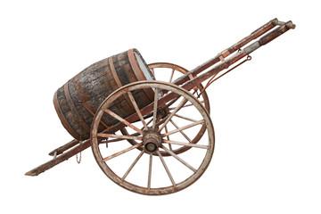 charrette pour transport de tonneau