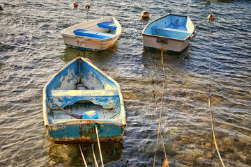 Old Rowboats