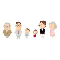 家族、山本家