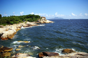 View from the hill top of Cheung Chau, Hong Kong