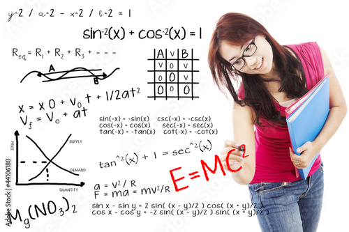 College Student with formula