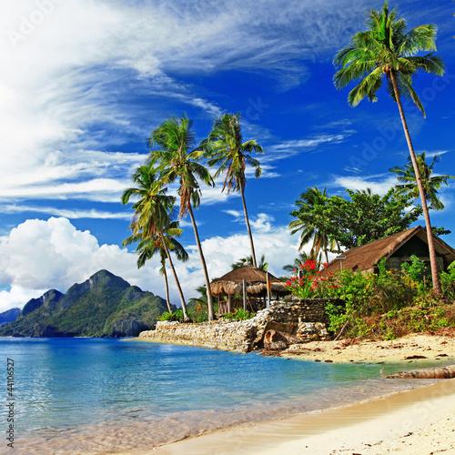 Fototapeten,tropisch,szenerie,strand,landschaft