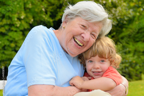 Granny Playing With Kid 5