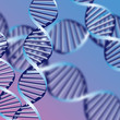 DNA helix, biochemical abstract background