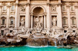 Trevi Fountain - famous landmark in Rome - 44108911