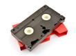 Old  vhs video cassette