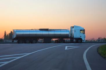gas-tank truck