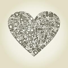 Heart electronics