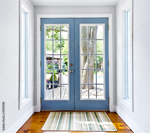 French patio glass door