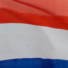 wavy Netherlands flag