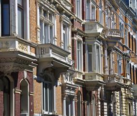 Hausfassaden, Gründerzeit