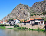 city of amasya, turkey, ottoman