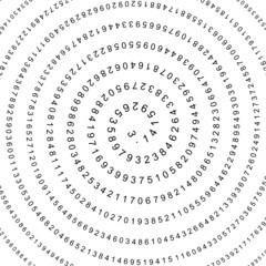 Kreiszahl, Pi, Spirale, Mathematik, Mathe, Infinite, unendlich