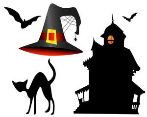 Halloween dessins noir